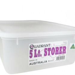 5Ltr Quadrant Storage Container