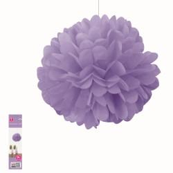 * 50CM DECORATIVE PUFF - Purple