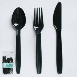 24pk PLASTIC CUTLERY
