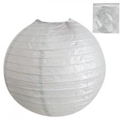 *30cm Metallic Silver Paper Lantern