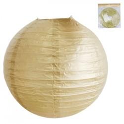 *30cm Metallic Gold Paper Lantern