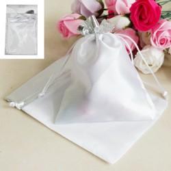 *2pk Silver Bags 15x20cm