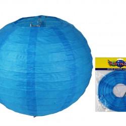 20CM Lantern Blue 1 pce