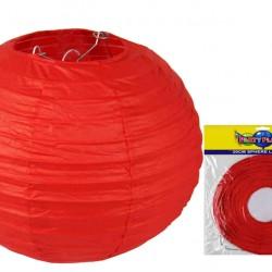 20CM Lantern Red 1 pce