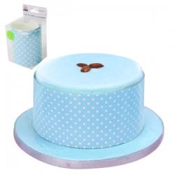 100cm Cake Wrapper Blue