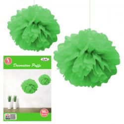 * 50CM DECORATIVE PUFF - Green