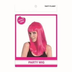 Lomg Wig Pink