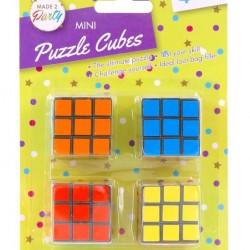4PK Mini Novelty Puzzle Cubes