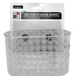 Bathroom Storage Basket with Suction-Large