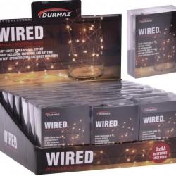 Wired L.E.D Decorative Light (White Light Series)-2MTR