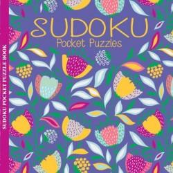 Sudoku Pocket Puzzles-Floral Foil Series