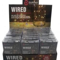 Wired L.E.D Decorative Light (Multi Coloured Light)-2MTR