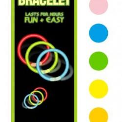 Glow in the Dark Novelty Bracelets - 3PK