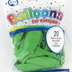 30cm Balloons Lime