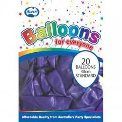 30cm Balloons Pastel Purple
