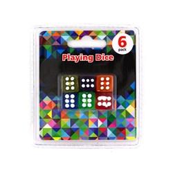 PLAYING DICE 6PK