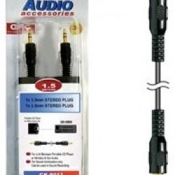 3.5mm S/Plug to S/Plug 1.5m