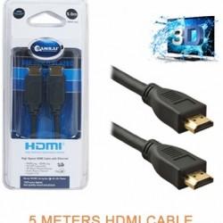 5 Meters HDMI AV Cable