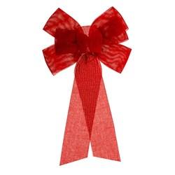 Bow Xmas Medium Red
