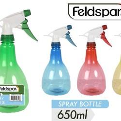 1pce Plastic Pressure Spray-650ml-4Col