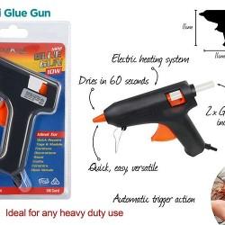 3pce Glue Gun-10W w/Glues