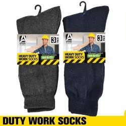 3Pair Work Socks