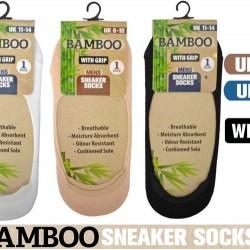 1Pair Mens Invisible Socks (Bamboo