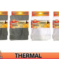 1Pair Adults Thermal Pants