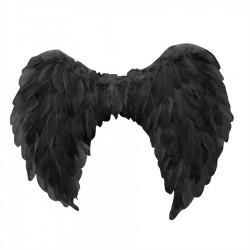 *BLACK KIDS ANGEL WING 60x40CM