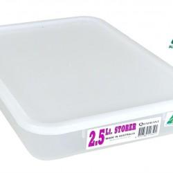 2.5Ltr Quadrant Storage Container