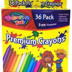 36PK Crayon Pack