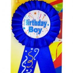 Novelty Happy Birthday Badges-Boy Series